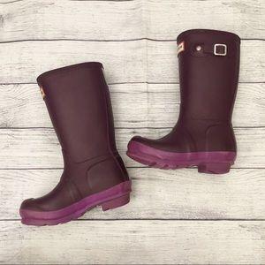 Hunter Purple Rain Boots
